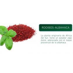 DELTEA ROOIBOS ALBAHACA 20 PIRAM