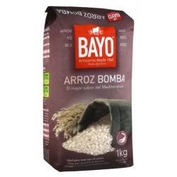 ARROZ BAYO BOMBA 1KG X 12U