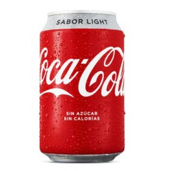 COCA COLA LIGHT LATA 0.33 C24U
